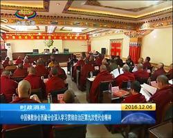 中国佛教协会西藏分会深入学习贯彻自治区第九次党代会精神