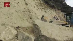 林芝地震:道路几乎没受影响,南迦巴瓦附近米瑞环路轻微塌方