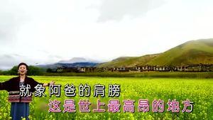 《我爱你西藏》桑娜央金