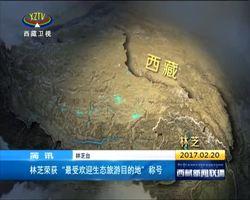 """林芝荣获""""最受欢迎生态旅游目的地""""称号"""