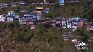 樟木地震三年后实景视频