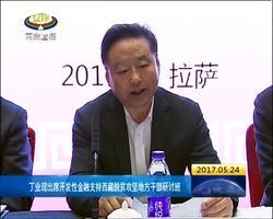 丁业现出席开发性金融支持西藏脱贫攻坚地方干部研讨组