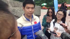 芈昱廷:虽然结果有些遗憾但比赛很开心