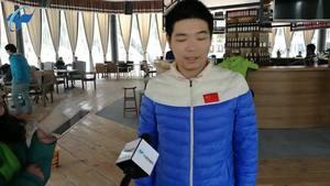 芈昱廷:第一次来西藏不虚此行 期待珠峰决赛