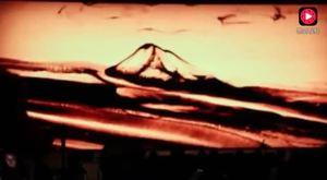 精彩绝伦沙画艺术与交响乐结合 1分钟魔幻之旅绘出稻城亚丁神韵