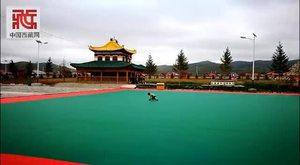 藏族小萌娃花样玩滑板 太可爱了