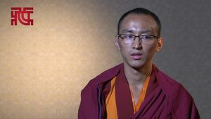 """专访:格茸单争 与佛学院同龄的年轻""""拓然巴"""""""