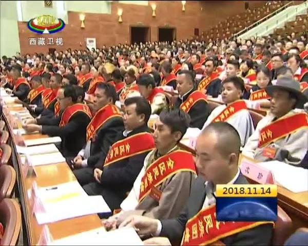 西藏自治区民族团结进步表彰大会召开
