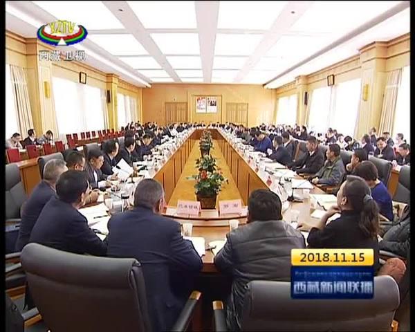 吴英杰:毫不动摇地推动西藏民营经济大发展大繁荣