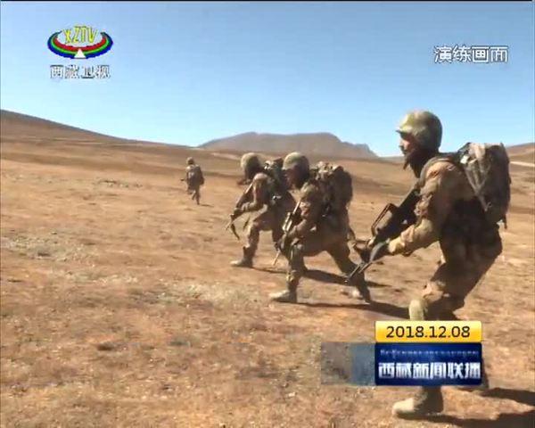 西藏:实战实训 打牢一线带兵人军事基础