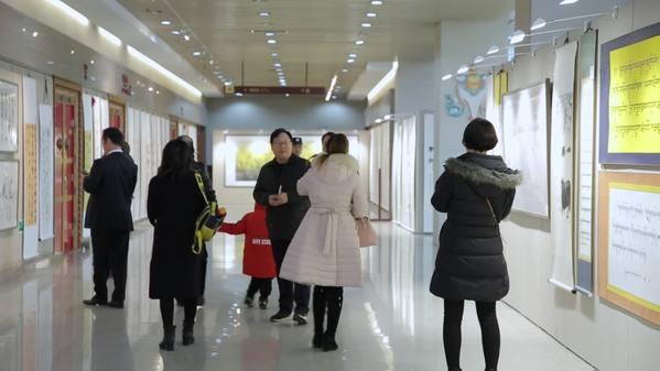 """""""翰墨光明行""""公益活动十周年书画展"""