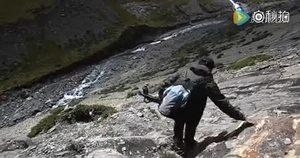 走进卡若拉冰川