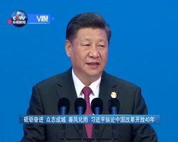 砥砺奋进 众志成城 春风化雨 习近平纵论中国改革开放40年