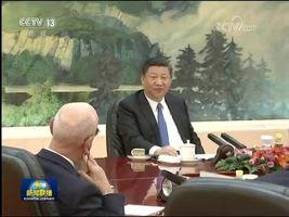 [视频]习近平会见世界经济论坛主席