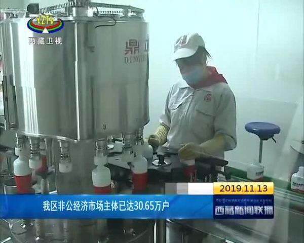 西藏非公经济市场主体已达30.65万户