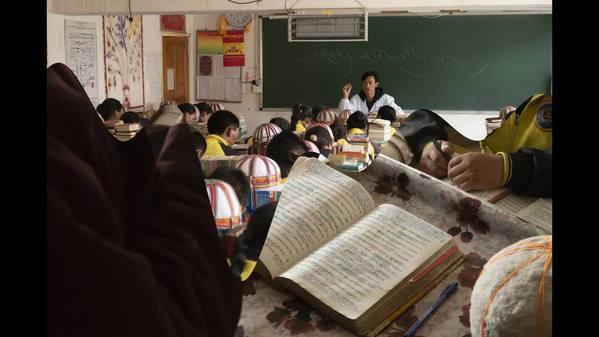 民间藏医学校的日常