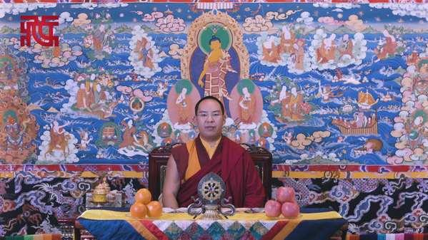 班禅额尔德尼·确吉杰布藏历土猪年新年祝福(藏)