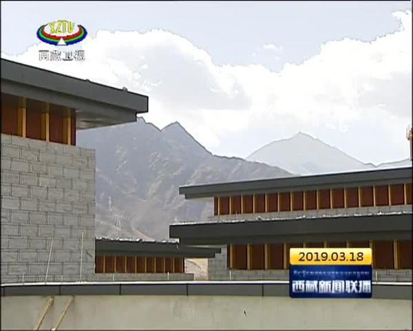 西藏青少年宫加紧施工 预计今年五月开馆