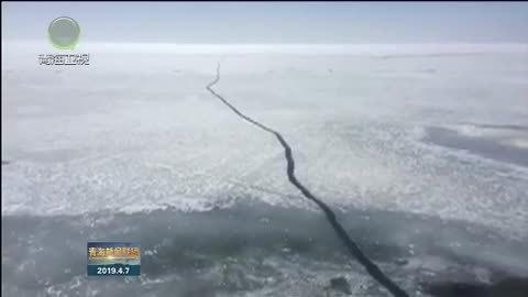 青海湖开湖 冰与风之歌