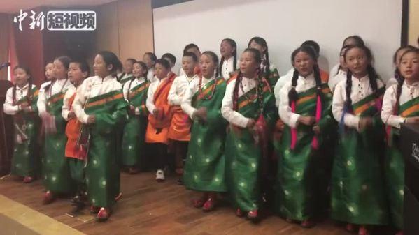 三江源头天籁音:藏族童声合唱团《打夯歌》了解一下