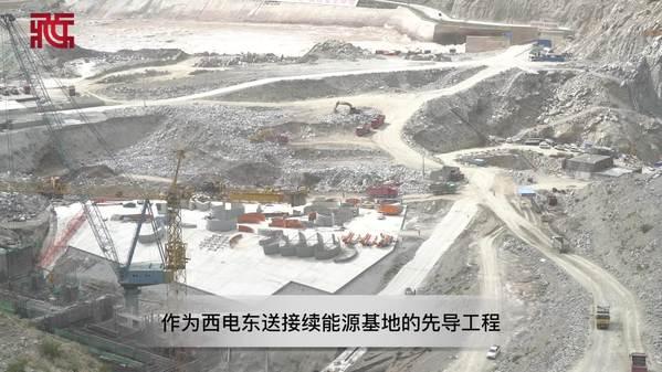 【藏东70年巨变】俯瞰西藏首个超百万千瓦规模的大型水电工程