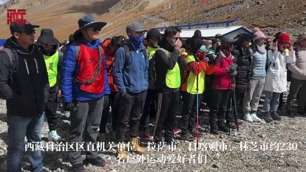 """加长版""""十一""""假期,来自西藏洛堆峰的召唤"""