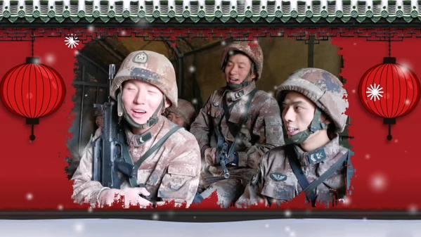【新春走基层】西藏边防官兵训练归队唱起这样一首歌……