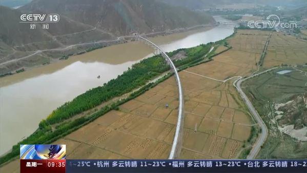 川藏铁路拉林段有序施工