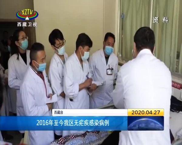 2016年至今西藏无疟疾感染病例