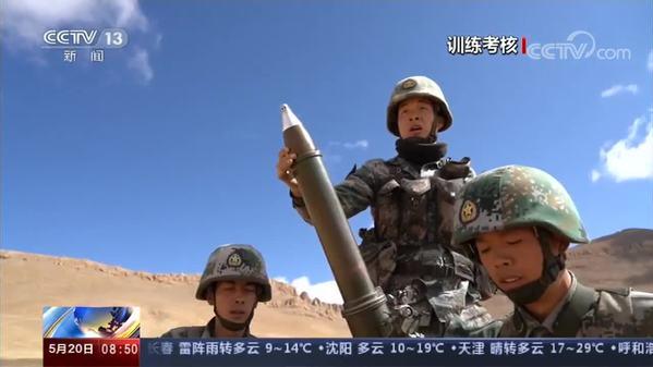 西藏:海拔4500米多课目实弹射击考核
