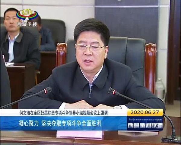 何文浩:凝心聚力 坚决夺取专项斗争全面胜利