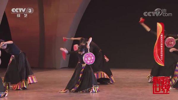 舞蹈《藏族热巴鼓舞表演性组合》