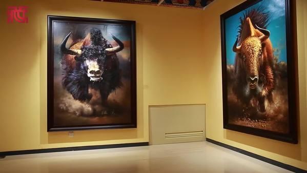 辜静:画牦牛就像画自己