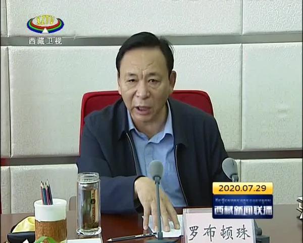 罗布顿珠就西藏自治新冠肺炎疫情防控工作强调 进一步完善疫情防控措施 提高防疫服务质量