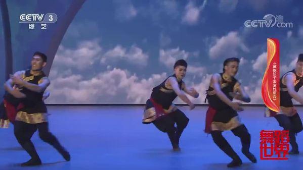 舞蹈《藏族弦子表演性组合》