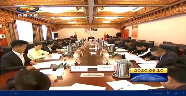 区党委统战部专题传达学习中央第七次西藏工作座谈会精神