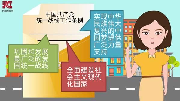 动画【观当下】丨这些要点助你把握《中国共产党统一战线工作条例》