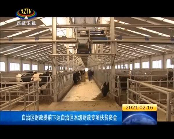 西藏自治区财政提前下达自治区本级财政专项扶贫资金