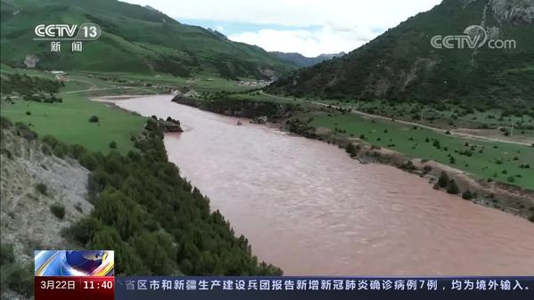 """水獭频现三江源 """"中华水塔""""保护卓有成效"""