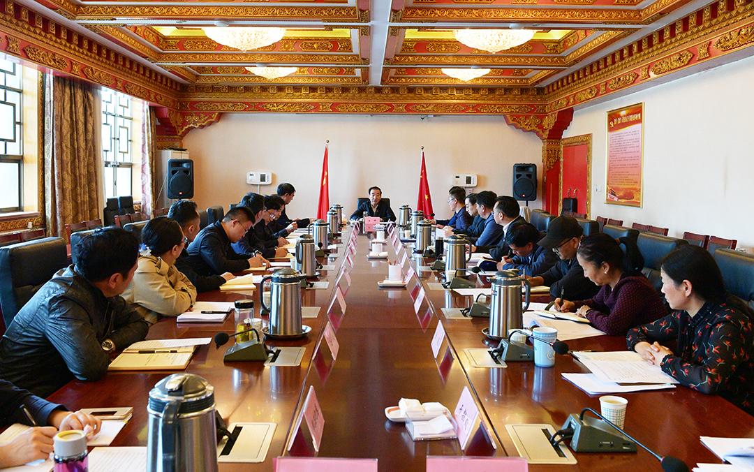 区党委统战部专题传达学习习近平总书记在西藏考察时的重要讲话重要指示精神