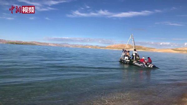 二次青藏科考分隊完成錯鄂湖作業