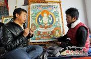 日喀则民办职校传承民族传统特色手工艺促就业