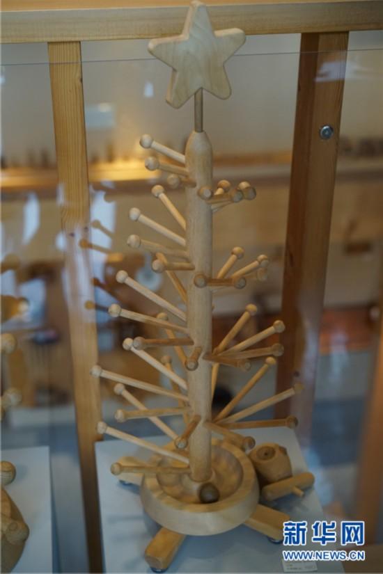 日本北海道的创意木制品