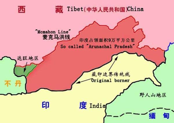 新闻 聚焦 独家新闻 > 正文     目前,中国和印度之间有争议的领土