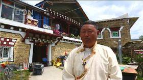 [视频]海外华文媒体四川藏区行 藏式民居