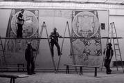 """阿里千年石窟壁画完成""""克隆"""" 112平米的巨幅画卷近日将在阿里地区群艺馆展出"""