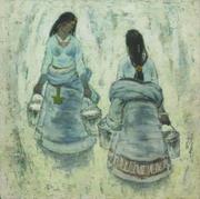 马常利代表作品《高原情》捐赠中国美术馆