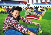 西藏校园体育 舞动青春的旋律
