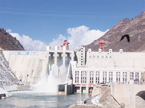 Tibet's 2nd largest hydropower station to be built