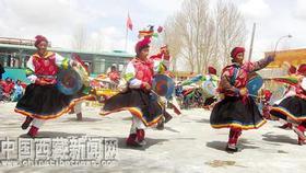 Inheritor to introduce oldest Tibetan folk dance to the whole world